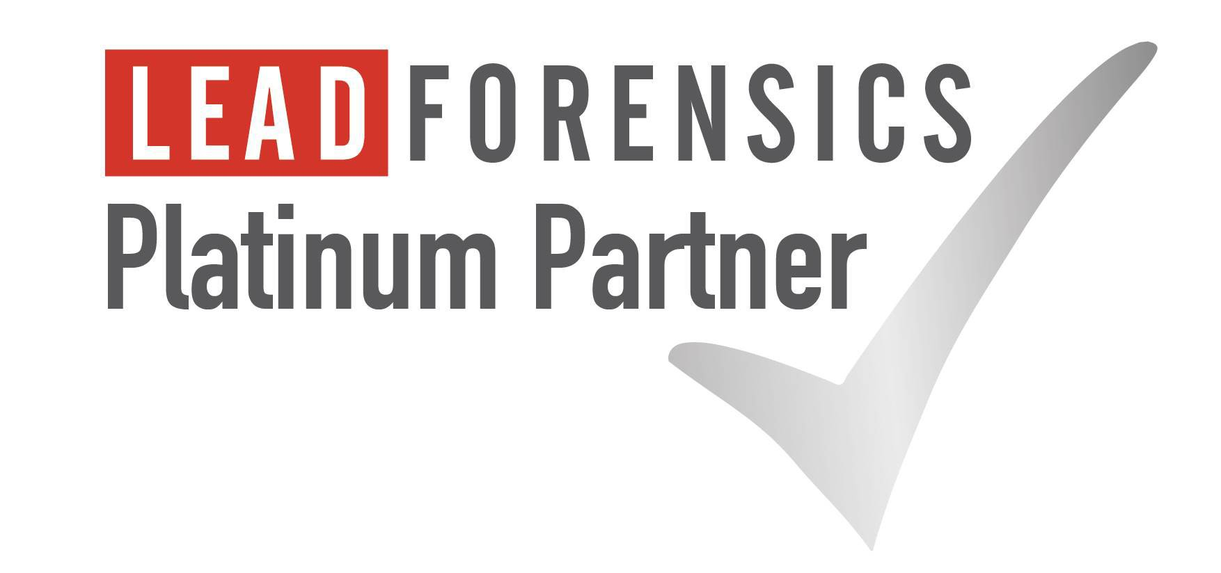 CMFG awarded platinum partner status by Lead Forensics