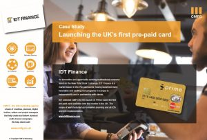 IDT - Launching the UK's first pre-paid card