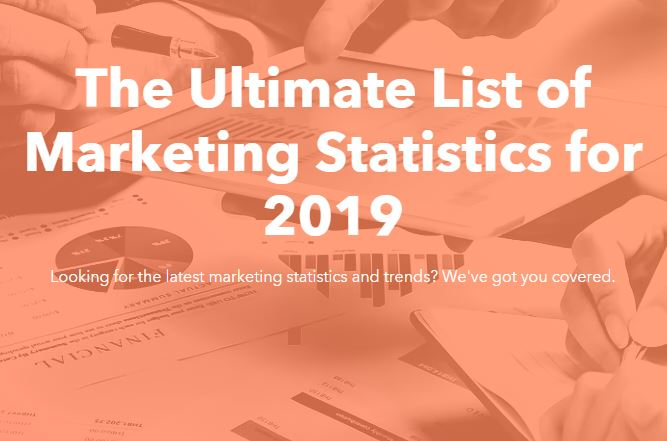 The Ultimate List of 2019 Marketing Statistics