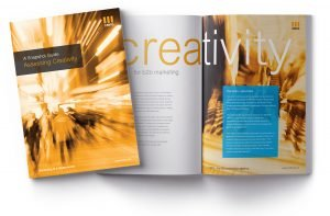 CMFG B2B marketing guide - creativity