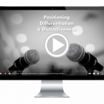 positioning versus differentiation versus distinctiveness